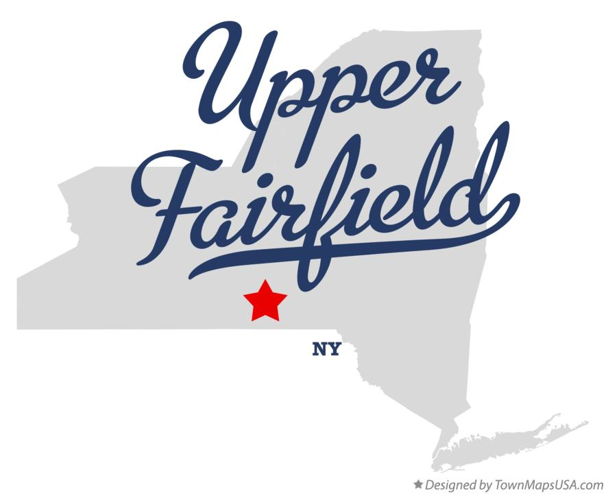 Map of Upper Fairfield New York NY