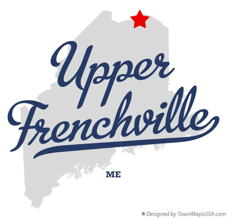 Map of Upper Frenchville Maine ME