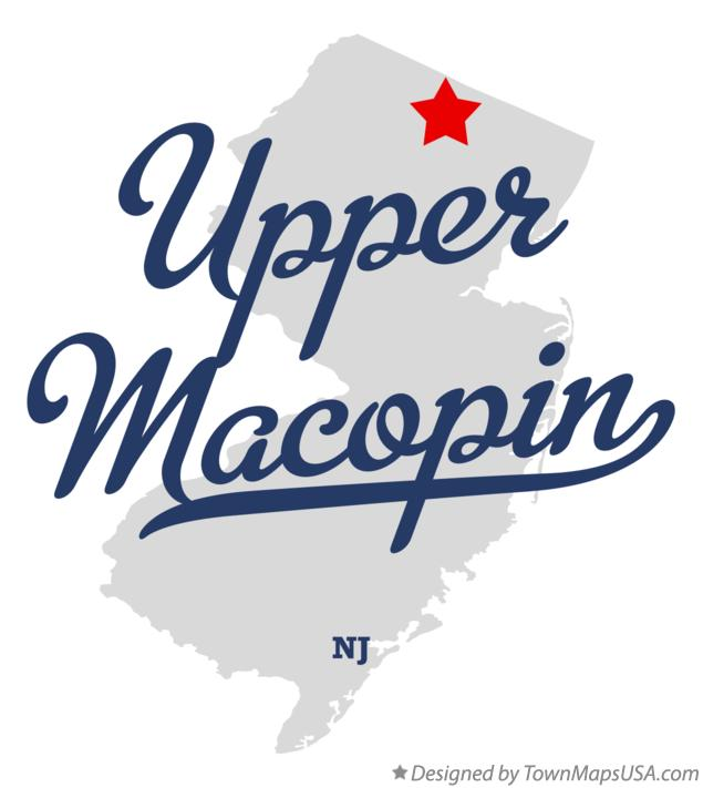 Map of Upper Macopin New Jersey NJ