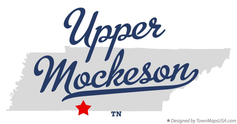 Map of Upper Mockeson Tennessee TN