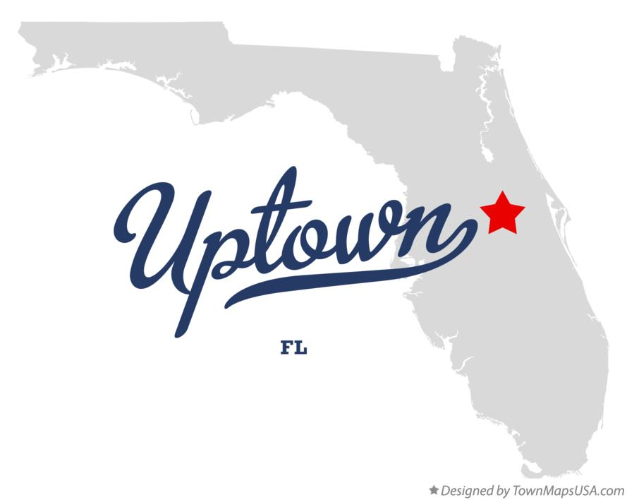 Map of Uptown Florida FL