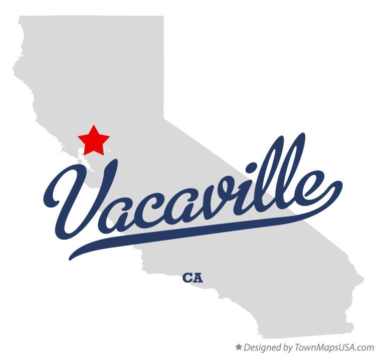 Map Of California Vacaville.Map Of Vacaville Ca California