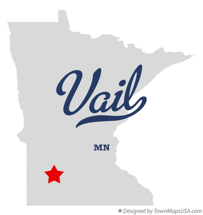Map of Vail Minnesota MN