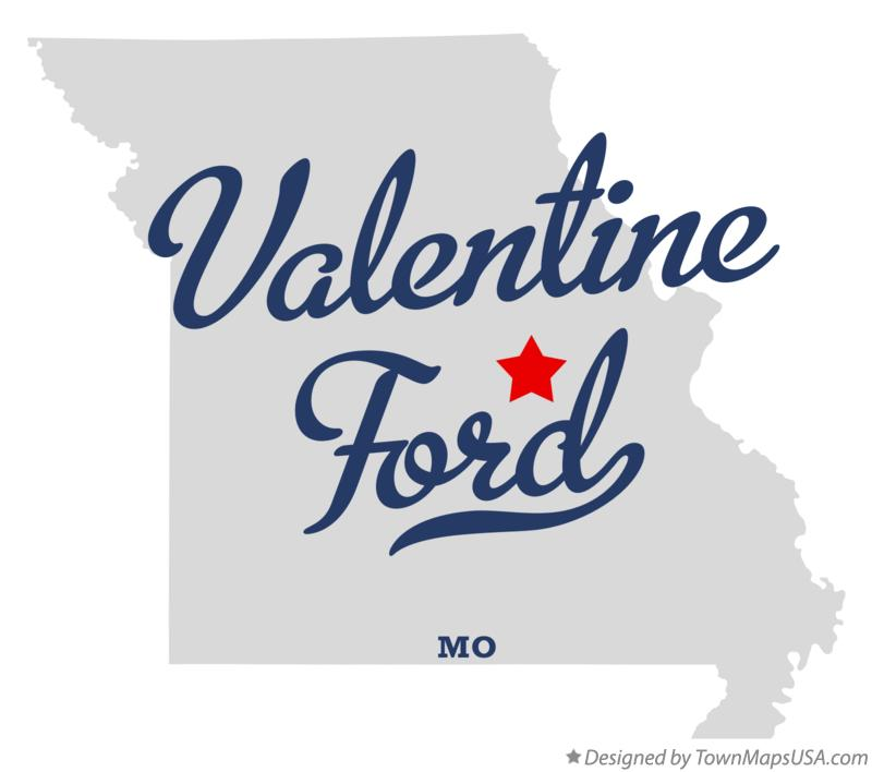 Map of Valentine Ford Missouri MO