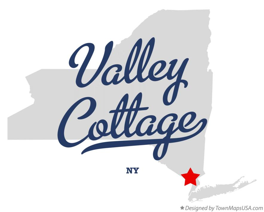 Map of Valley Cottage New York NY