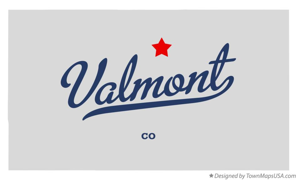 Map of Valmont Colorado CO