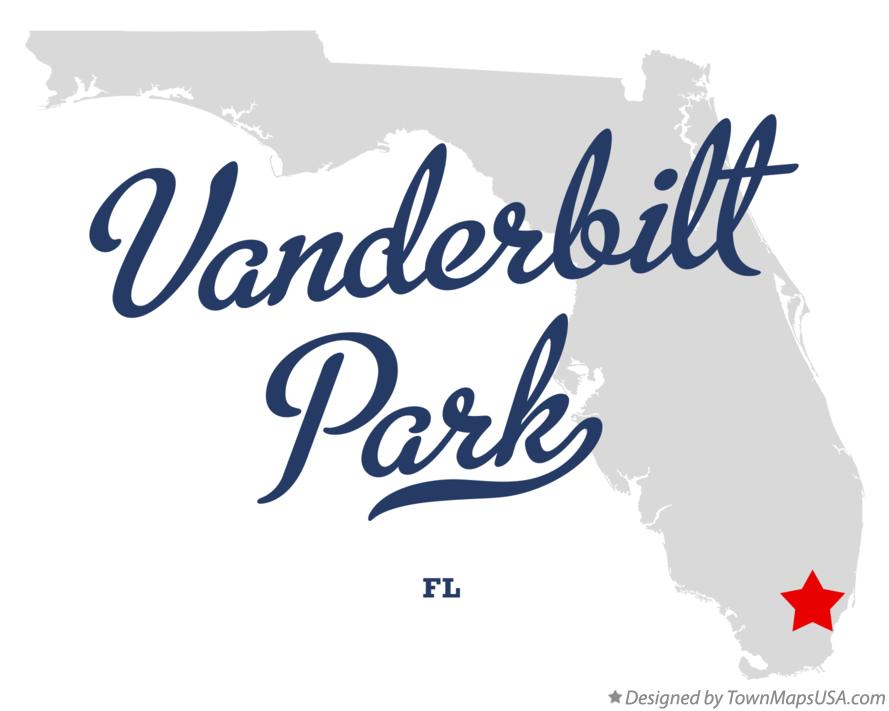 Map of Vanderbilt Park Florida FL