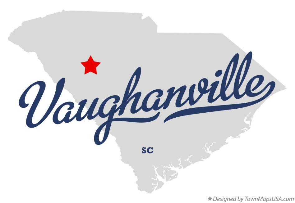 Map of Vaughanville South Carolina SC