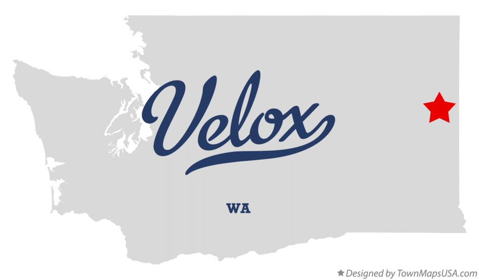 Map of Velox Washington WA