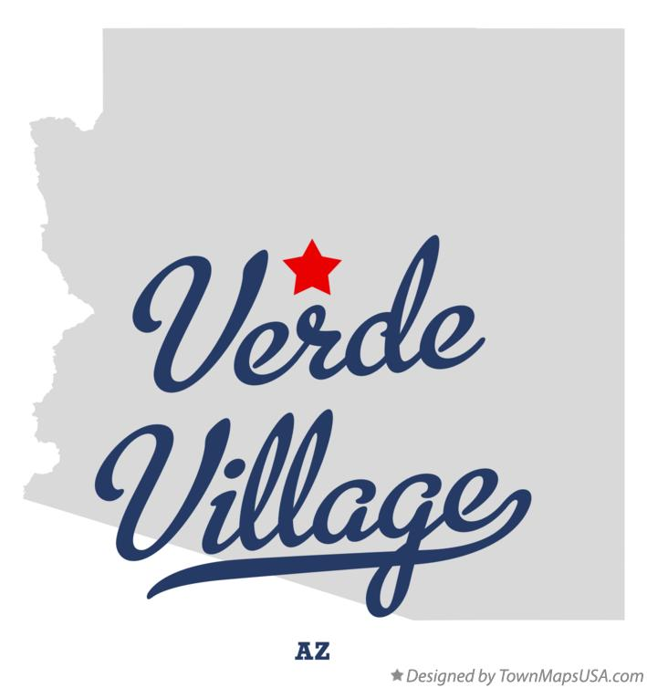 Map of Verde Village Arizona AZ