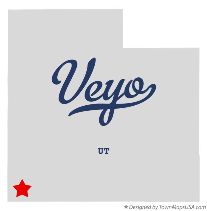 Map of Veyo Utah UT