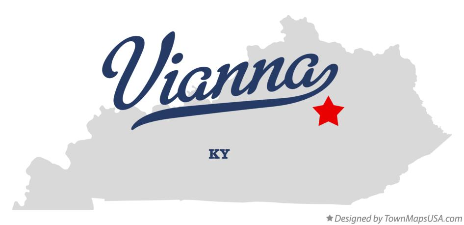 Map of Vianna Kentucky KY