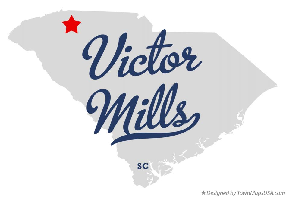 Map of Victor Mills South Carolina SC