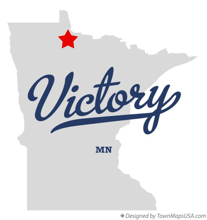 Map of Victory Minnesota MN