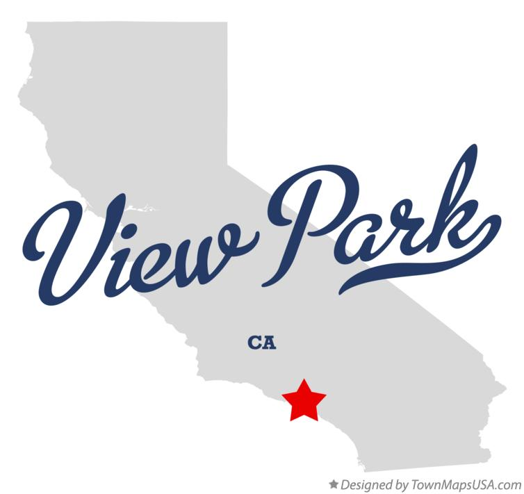 Map of View Park California CA