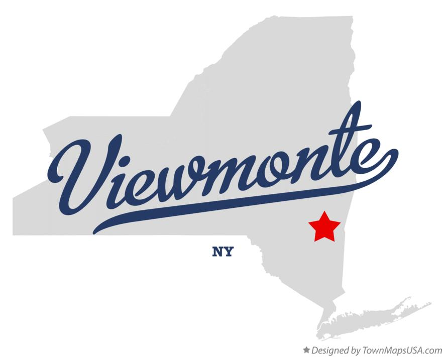 Map of Viewmonte New York NY