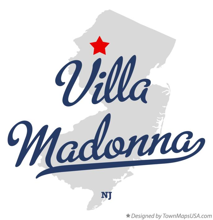 Map of Villa Madonna New Jersey NJ