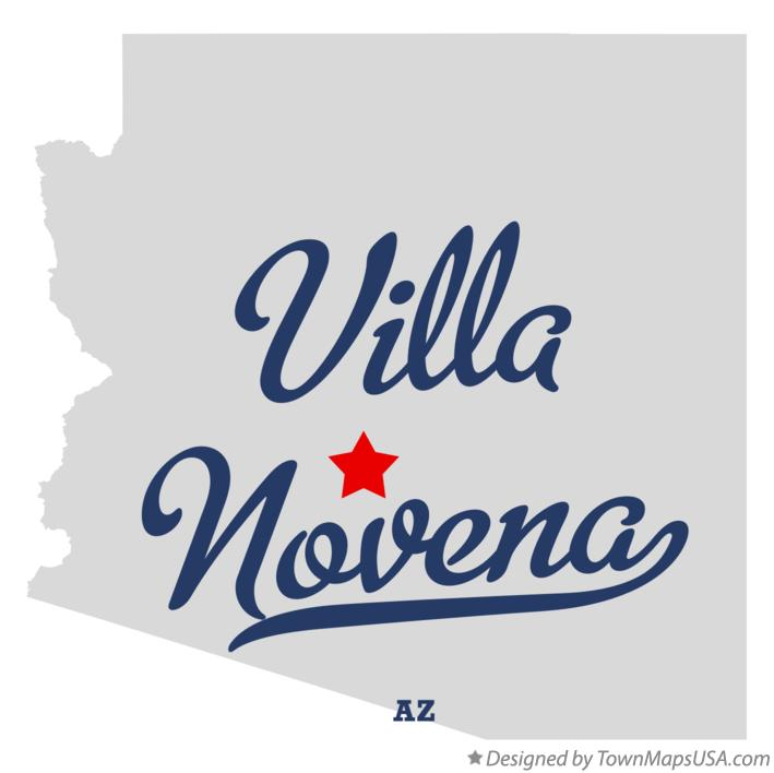 Map of Villa Novena Arizona AZ