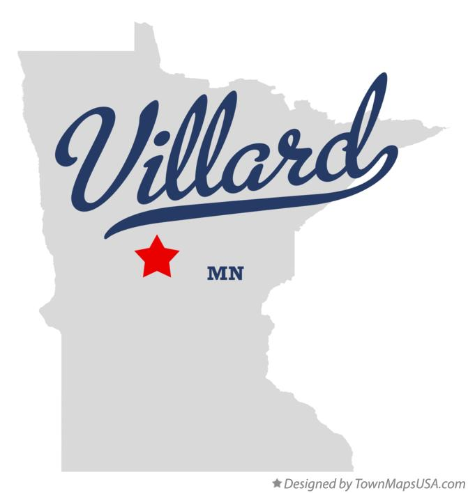 Map of Villard Minnesota MN