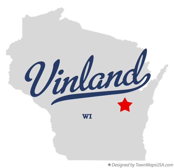 Map of Vinland Wisconsin WI