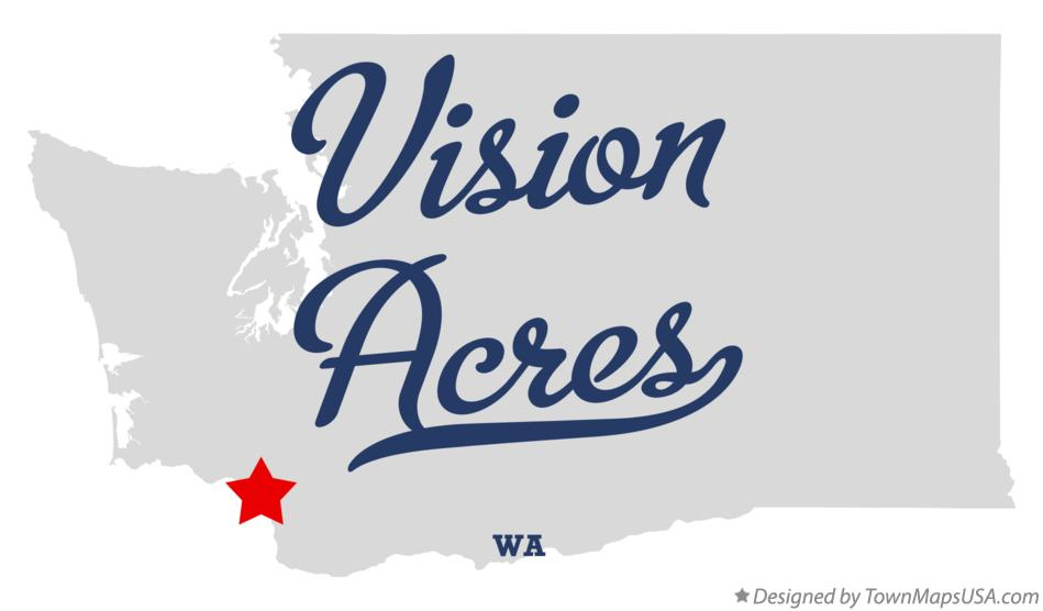 Map of Vision Acres Washington WA