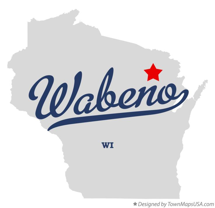 Map of Wabeno Wisconsin WI