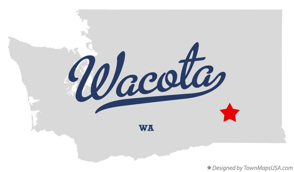 Map of Wacota Washington WA