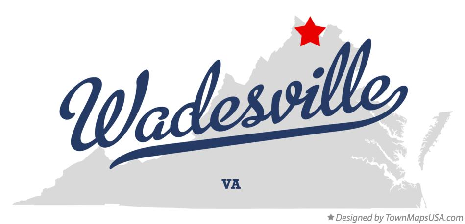 Map of Wadesville Virginia VA