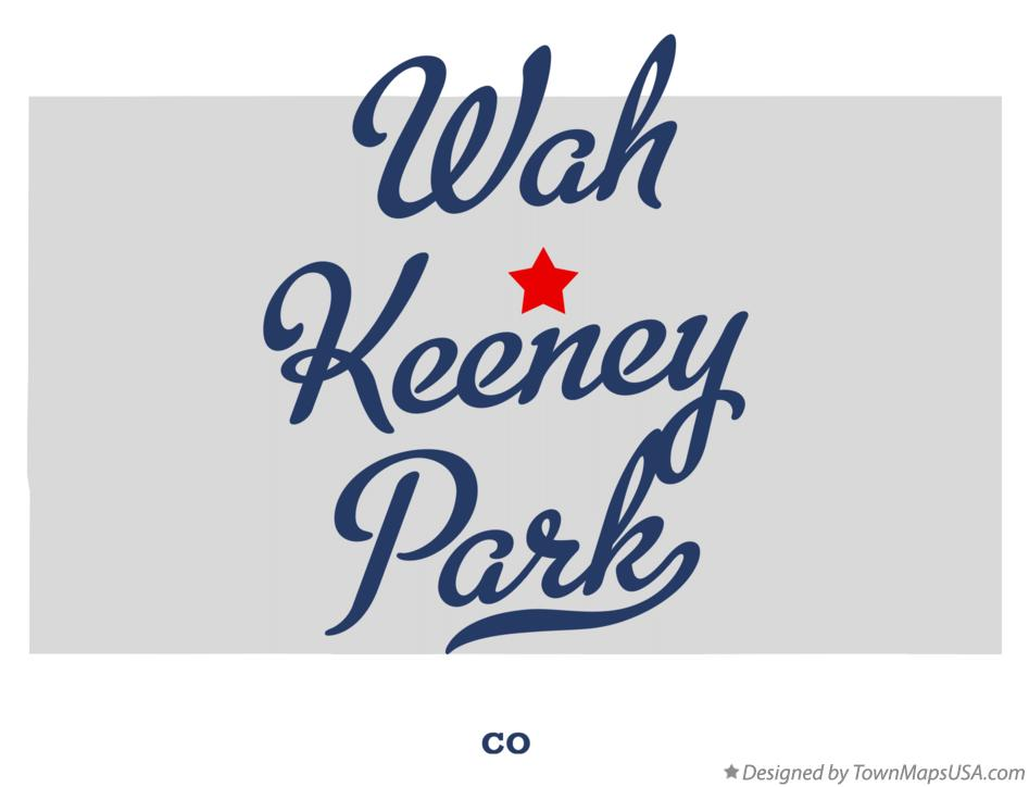 Map of Wah Keeney Park Colorado CO