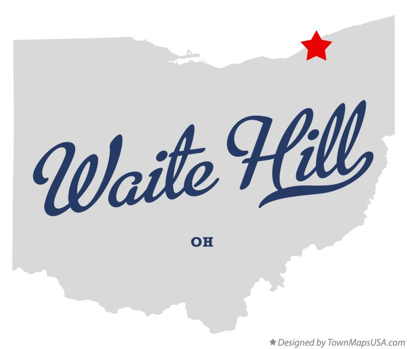 Map of Waite Hill Ohio OH