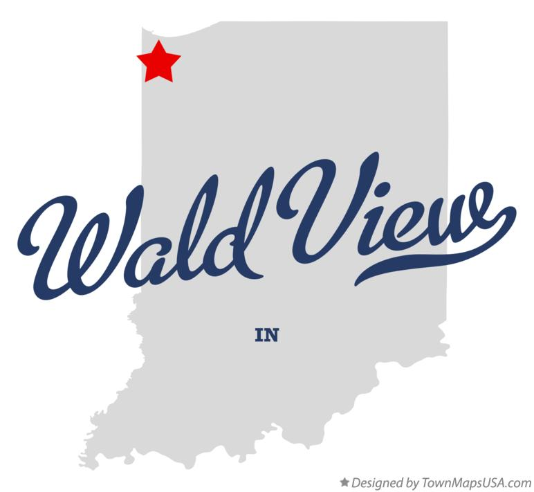 Map of Wald View Indiana IN
