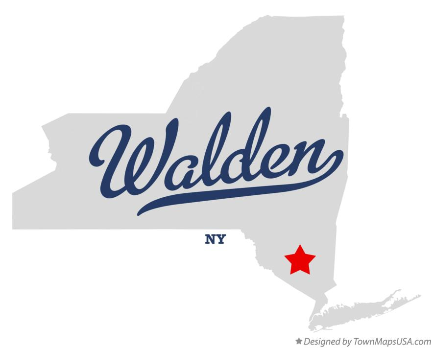 Map of Walden New York NY