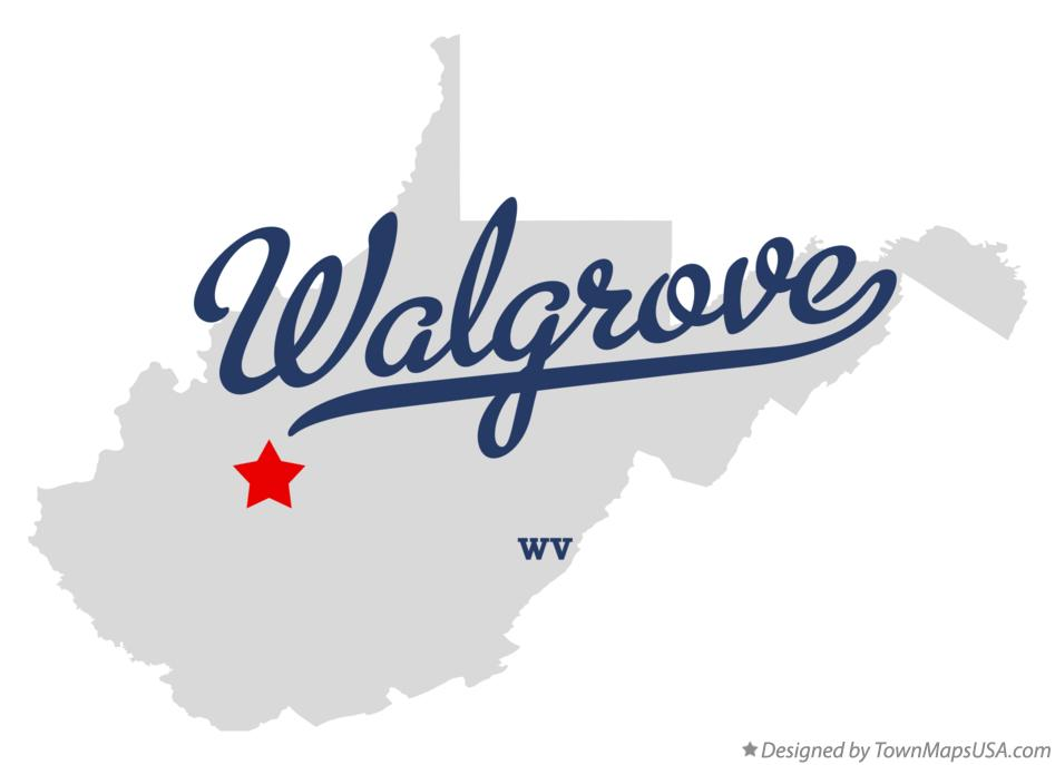 Map of Walgrove West Virginia WV