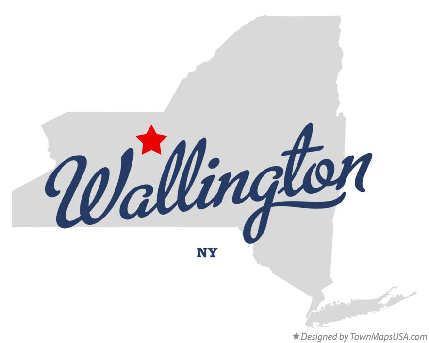 Map of Wallington New York NY