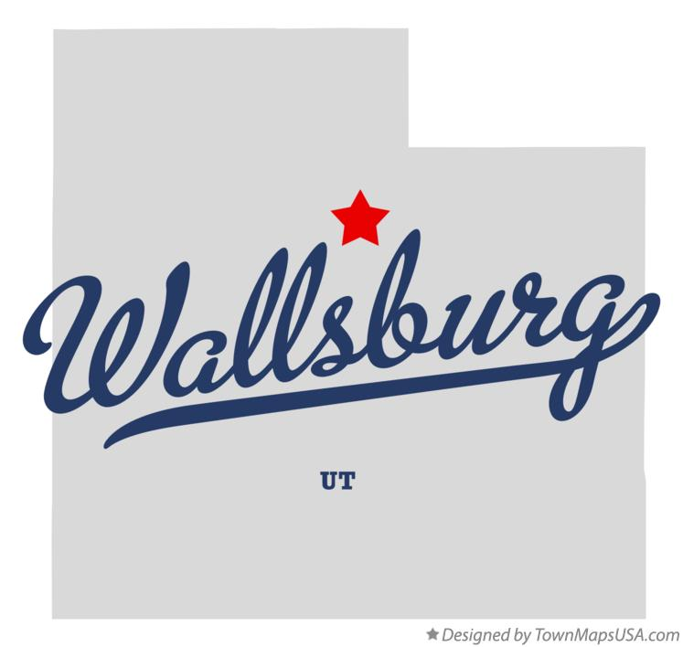 Map of Wallsburg Utah UT