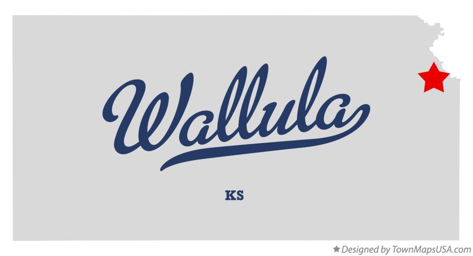 Map of Wallula Kansas KS