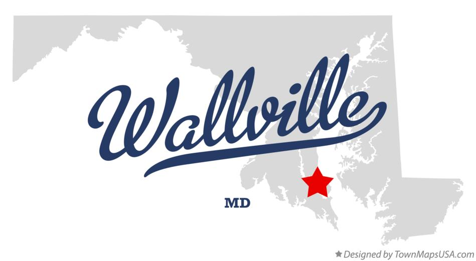 Map of Wallville Maryland MD