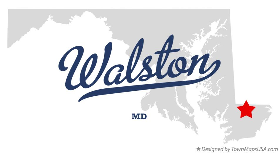 Map of Walston Maryland MD