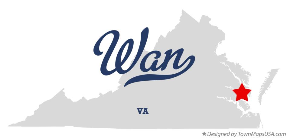 Map of Wan Virginia VA