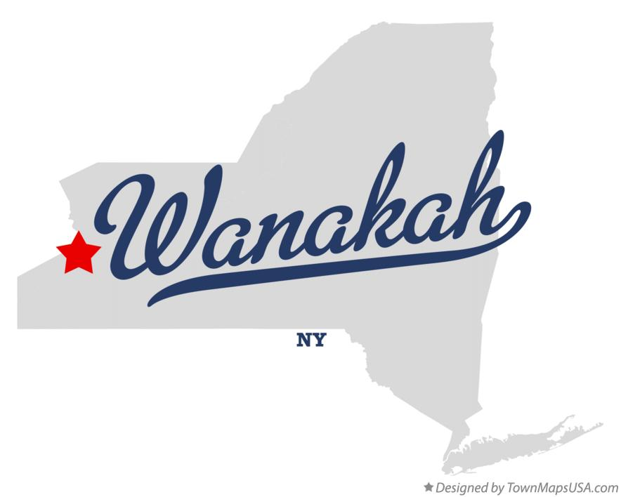 Map of Wanakah New York NY