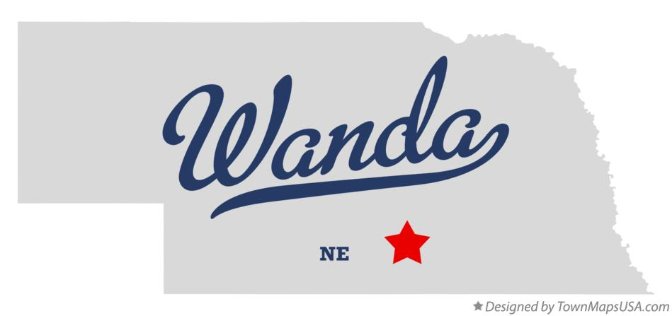 Map of Wanda Nebraska NE