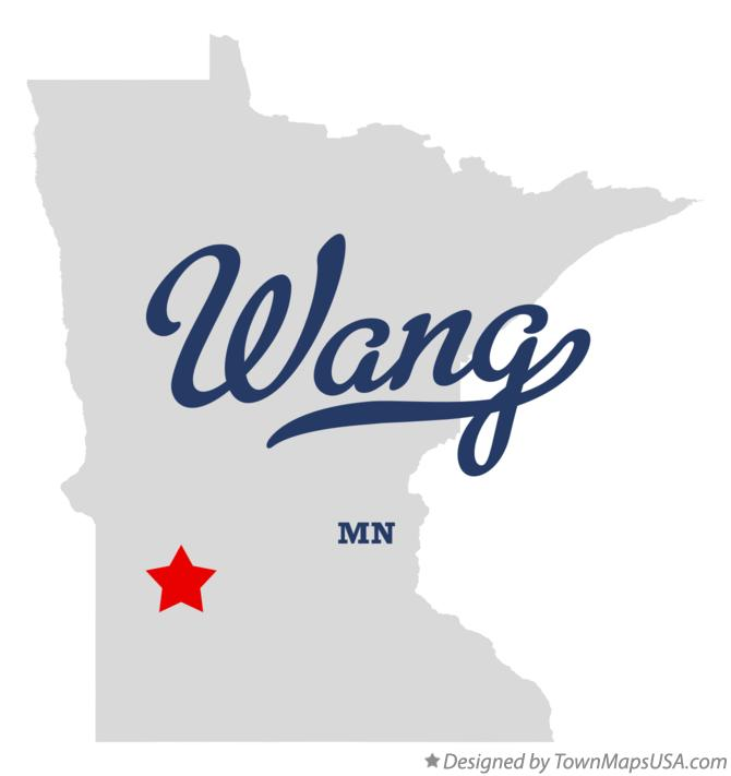 Map of Wang Minnesota MN