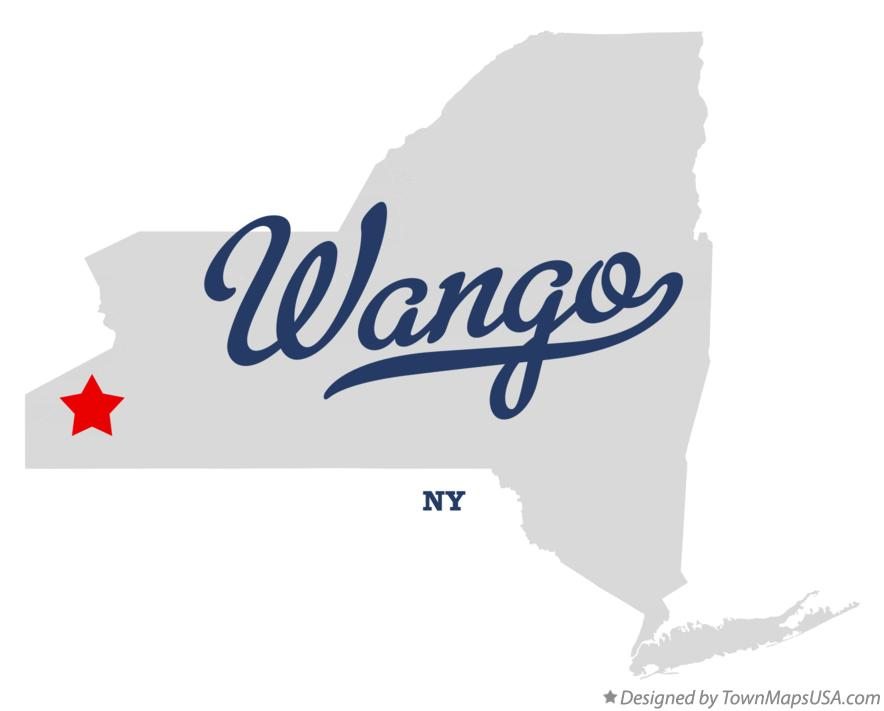 Map of Wango New York NY
