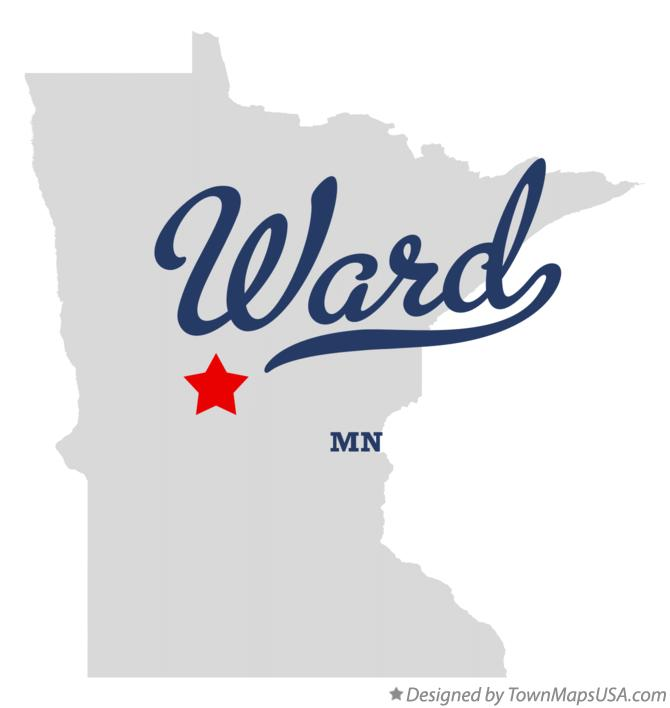 Map of Ward Minnesota MN