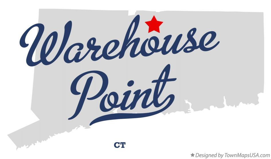 Map of Warehouse Point Connecticut CT