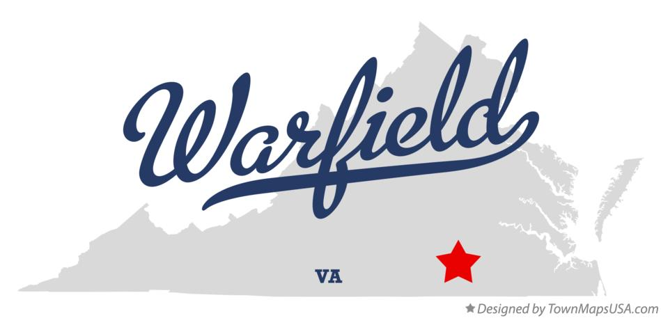 Map of Warfield Virginia VA