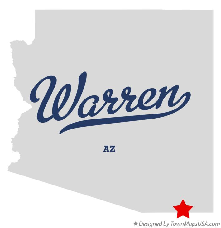 Map of Warren Arizona AZ