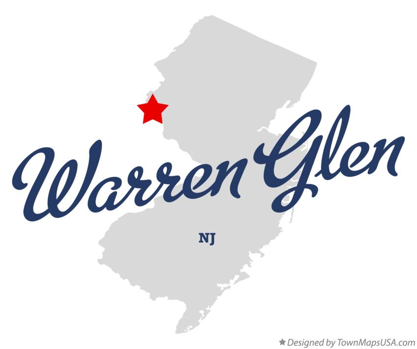 Map of Warren Glen New Jersey NJ