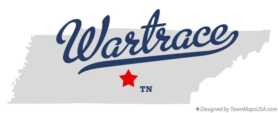 Map of Wartrace Tennessee TN