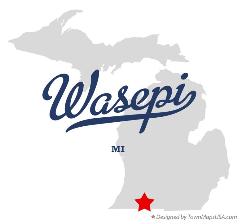 Map of Wasepi Michigan MI